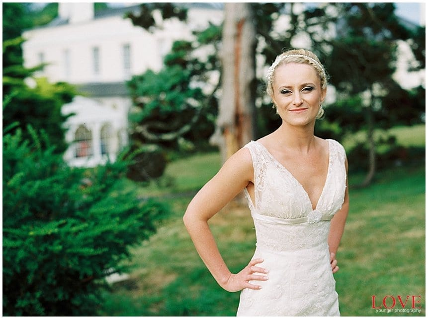 Wedding Images Shot On Film Using A Contax 645 Loaded With