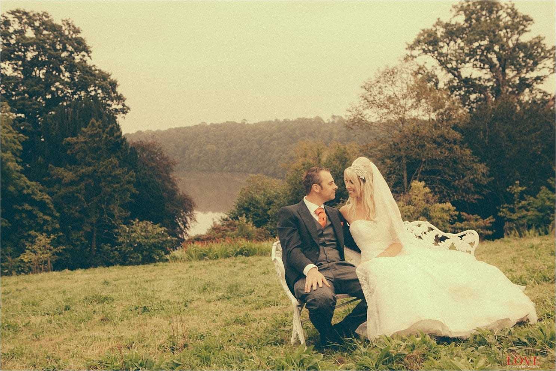Naomi and Matt wedding at Landolph Church and Pentillie Castle