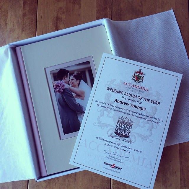 Graphi Studio wedding album of the year awards