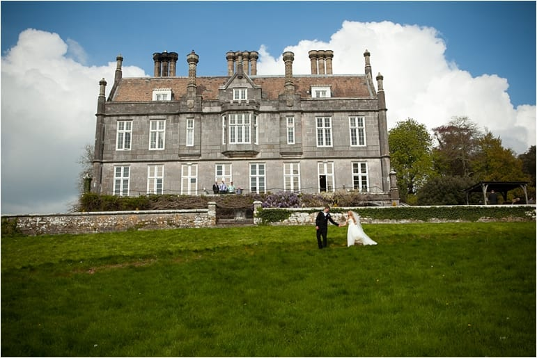 Arm forces wedding at Kitley House