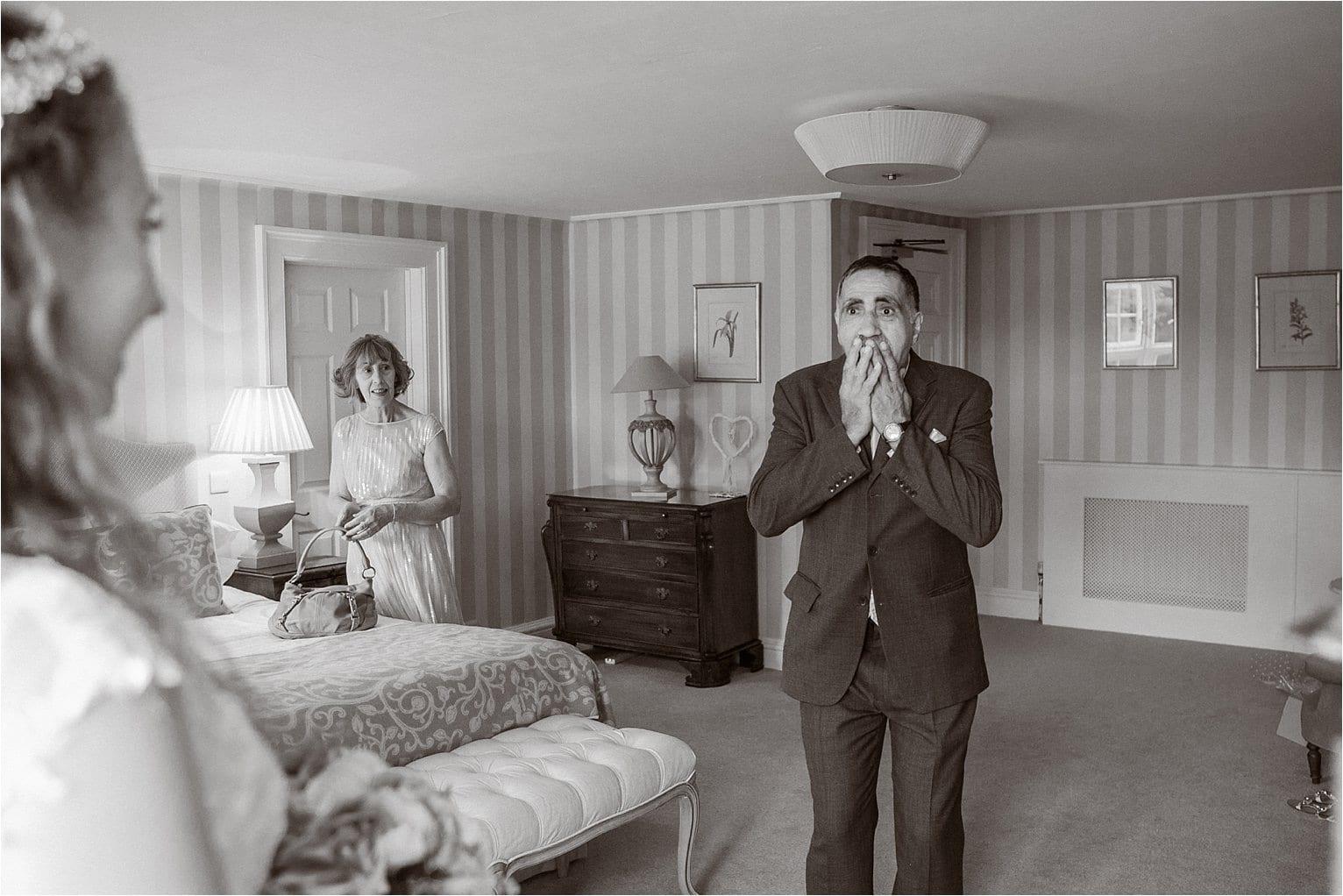 Kitley House in Devon, emotional wedding.