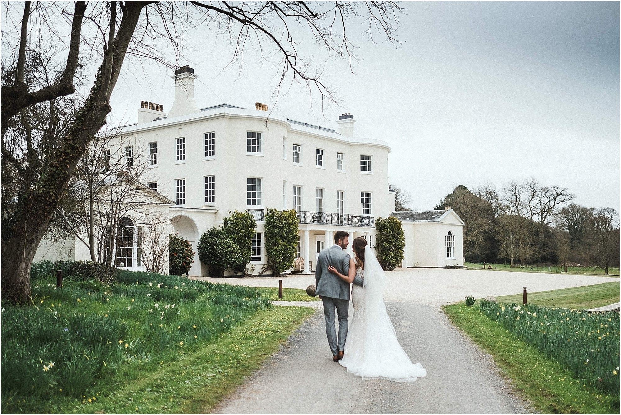 April wedding at Rockbeare Manor