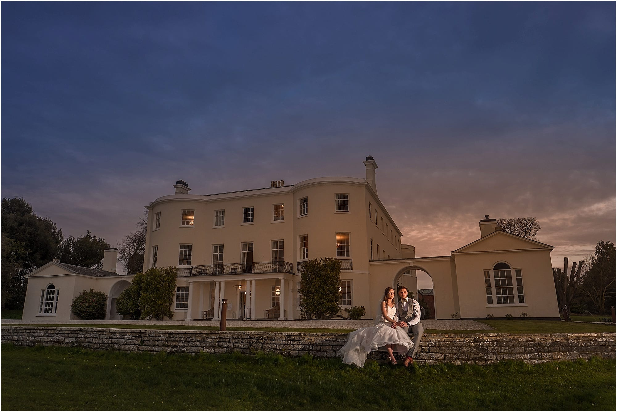 Rockbeare Manor spring wedding