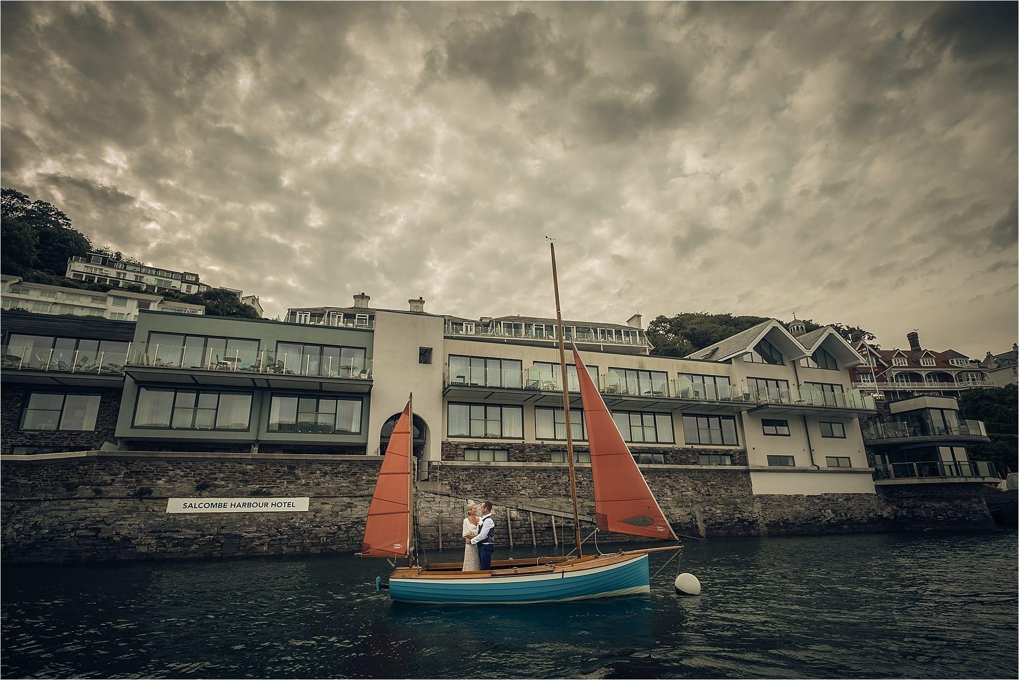 Salcombe Harbour Hotel wedding photographers