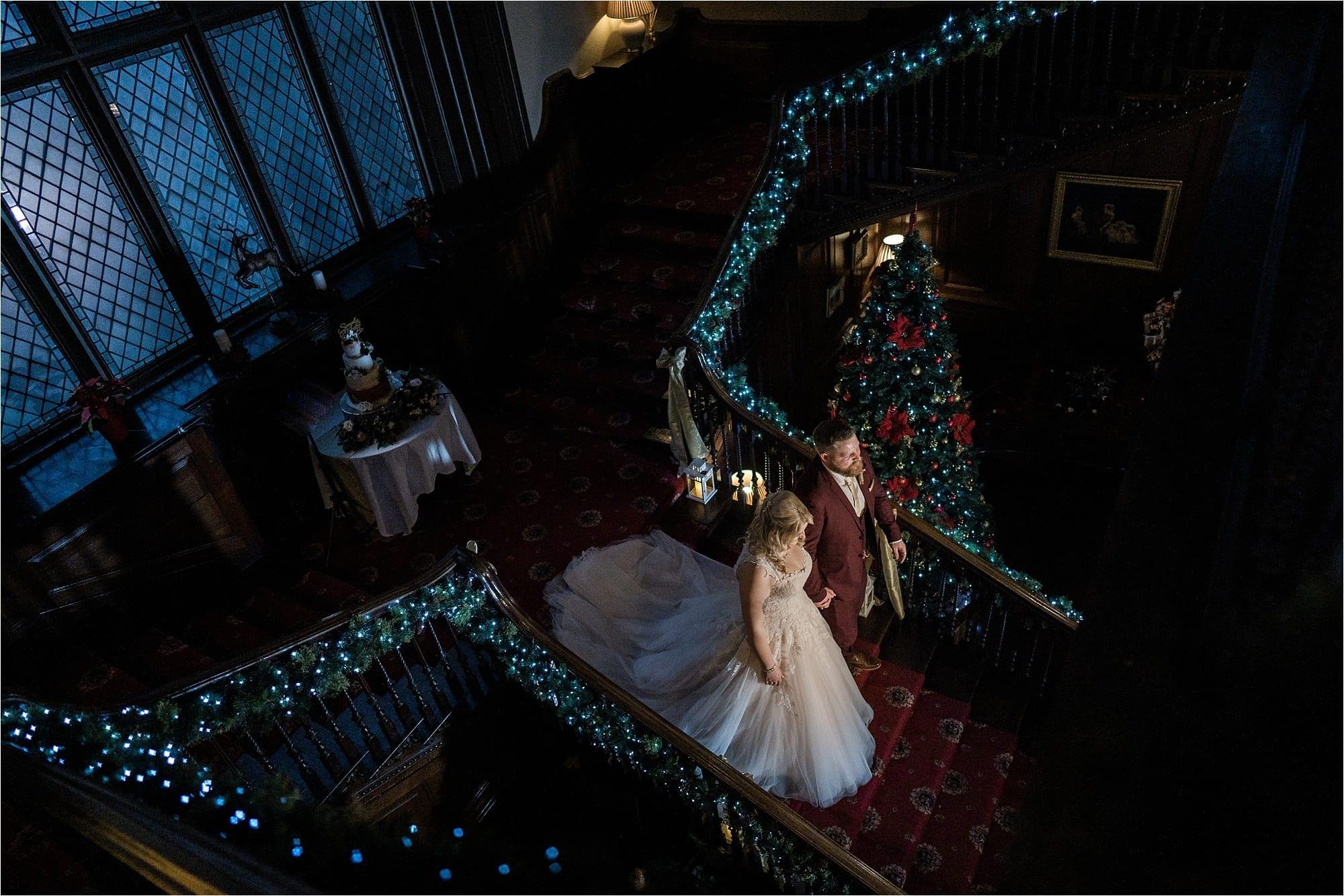 Kitley Christmas wedding