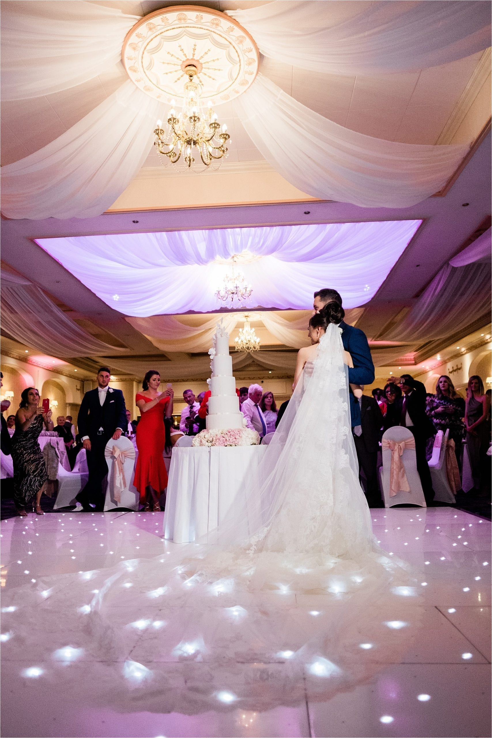 wedding reception at the New Continental Hotel